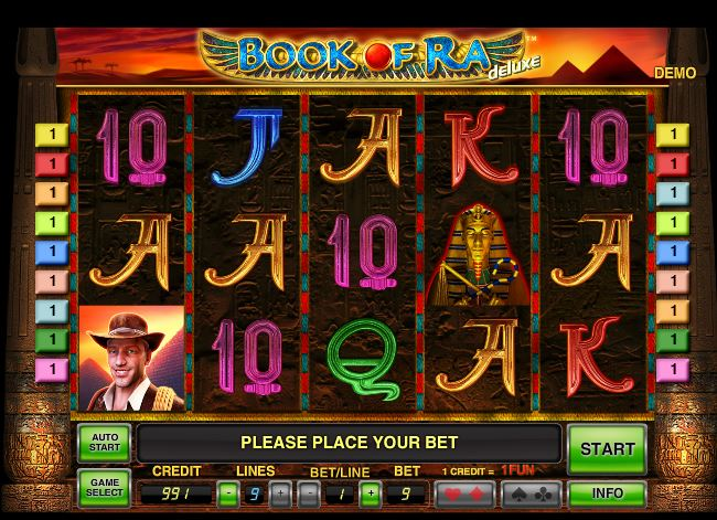 real slots online book of ra novomatic