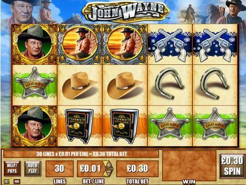 Come & Play John Wayne Slots Online