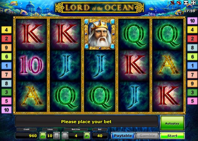 slots online gambling lord of ocean
