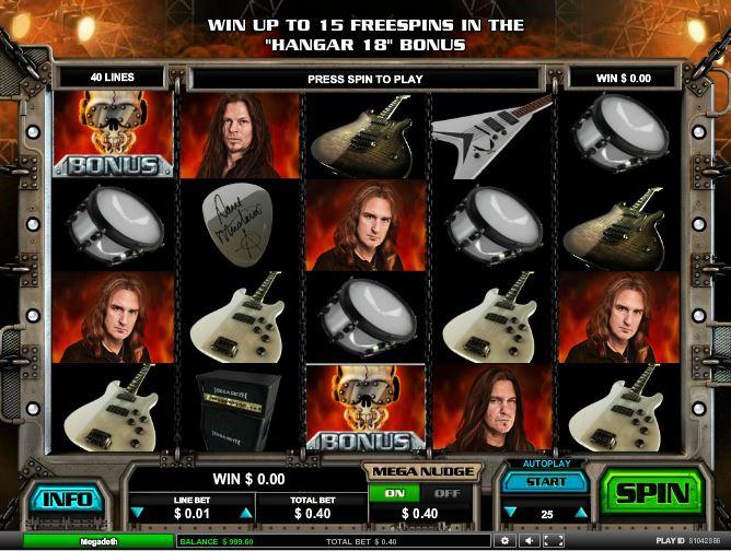 Megadeth slot