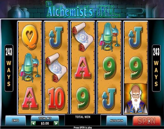 The Alchemists Spell Slot - Play Online for Free Now