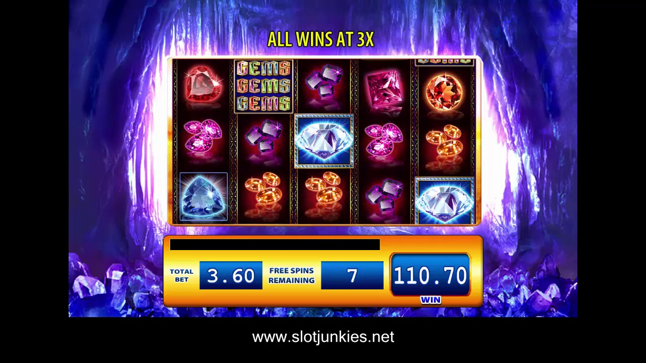 Gems gems gems Slot by WMS