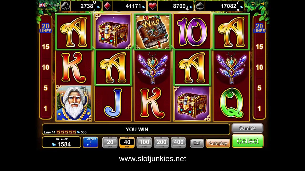 Book of magic Slot by EGT