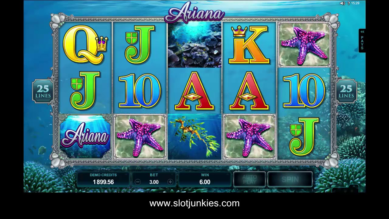 Ariana Slot by MICROGAMING