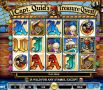 Captain Quids Treasure Slot - Free Spins Feature: 1-40 at 1-10x