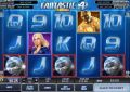 Fantastic 4 50Line Slot - Free Spins Feature: 12 at 2x