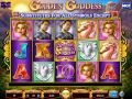Golden Goddess Slot by Wagerworks - Free Spins: 7 at 1x