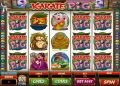 Karate Pig Slot by Microgaming - Free Spins: 14 at 2x