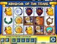 Kingdom Of The Titans Slot by WMS - Free Spins: 8-50 at 2-10x
