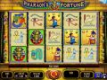 Pharaohs Fortune 15-line Slots by Wagerworks - Free Spins: 5-30 at 1-6x