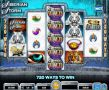 Siberian Storm Slot - Free Spins Feature: 8-96 at 1x