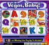 Vegas Baby Slot - Free Spins Feature: 15 at 3x