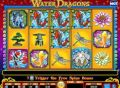 Water Dragons Slot - Free Spins Feature: 15 at 3x